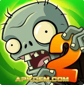 Plant vs Zombie 2 MOD APK Free Purchase