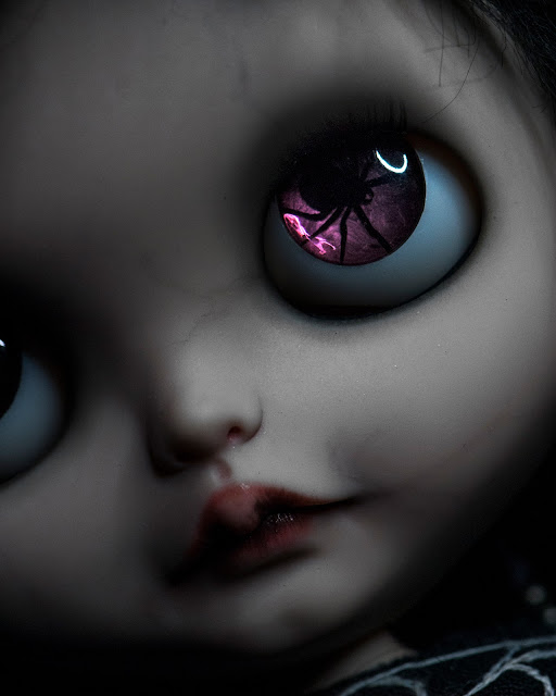 THE CURE ANNIVERSARY - Lullaby, a tribute to The Cure OOAK custom Blythe doll