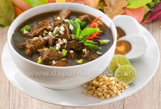 Resep dan Cara Membuat Rawon Khas Jawa Timur