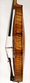 Copy of a Stradivari Violin Ribs by Nicolas Bonet Luthier - Eclisses d'un violon en copie de Stradivarius