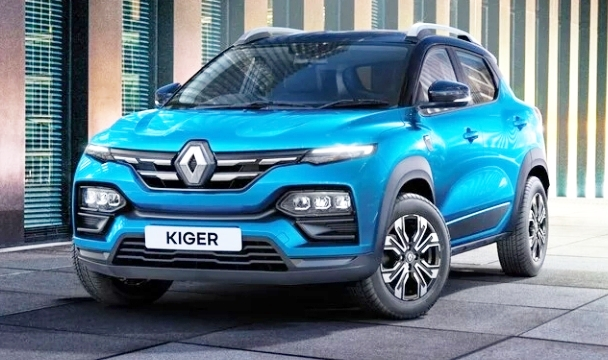 Renault launch Kiger Compact SUV in Indonesia market.