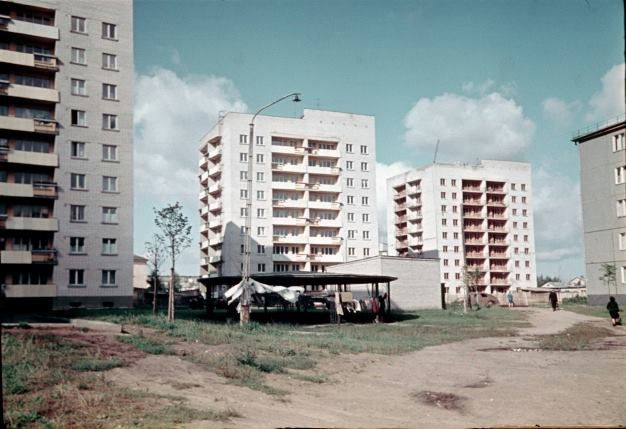 1960-е годы. Рига. Югла