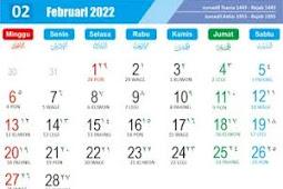 Download Templates Calender 2022 CDR, PDF, PSD, JPG, PNG Hijriyah, Jawa dan Libur Nasional