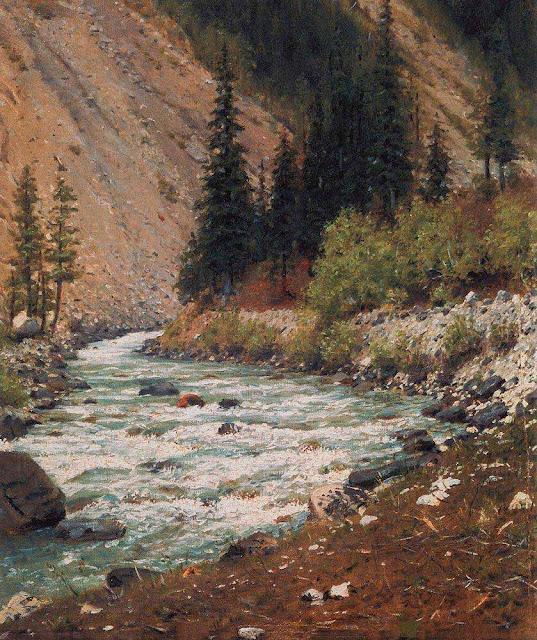 Василий Васильевич Верещагин - Горный ручей в Кашмире. 1875