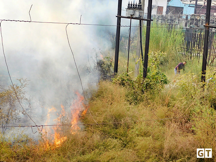 power-house-gajraula-on-fire