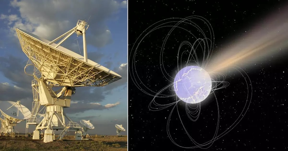 Scientists Have Detected Huge Radio-Wave Blasts (FRBs) In Our Galaxy For The First Time And They Are Not Entirely Sure What Is Causing Them