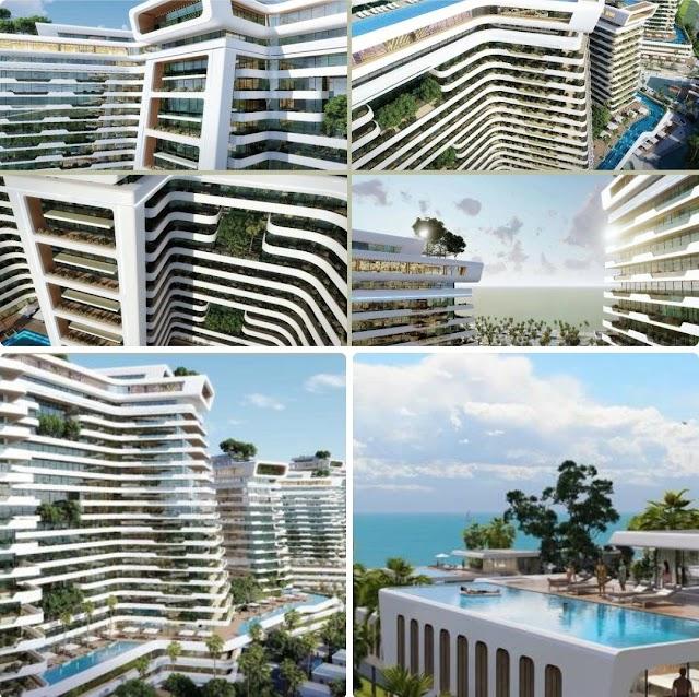 Căn hộ khách sạn 6 sao và biệt thự Lagoo Villas dự án Sunshine Heritage Đà Nẵng I