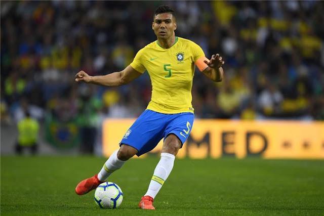 رسمياً.. استبعاد كاسيميرو من قائمة البرازيل