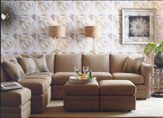 Download wallpaper ideas for living room feature wall gallery for Living room wallpaper ideas