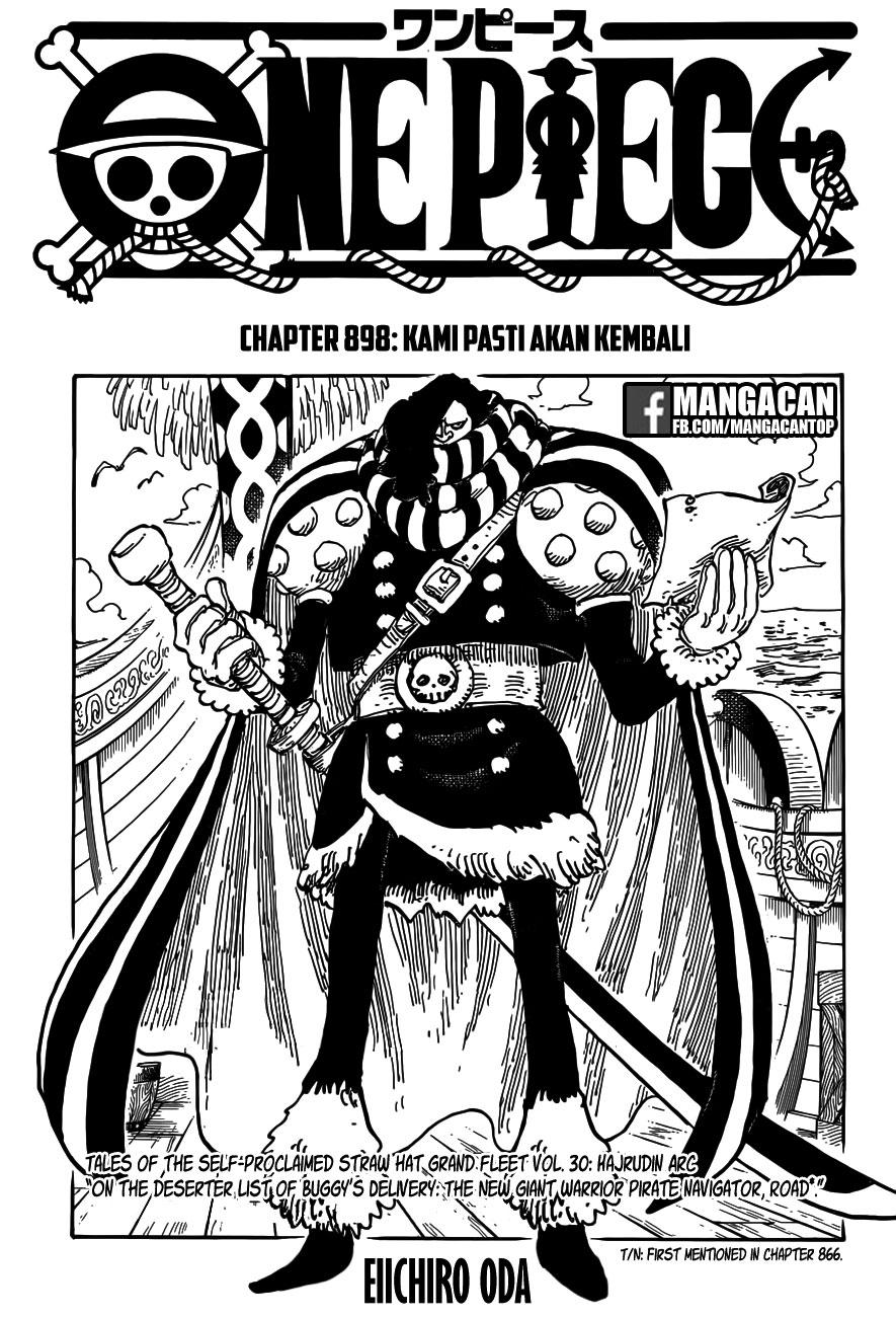 01b One Piece 898   Kami Pasti Akan Kembali