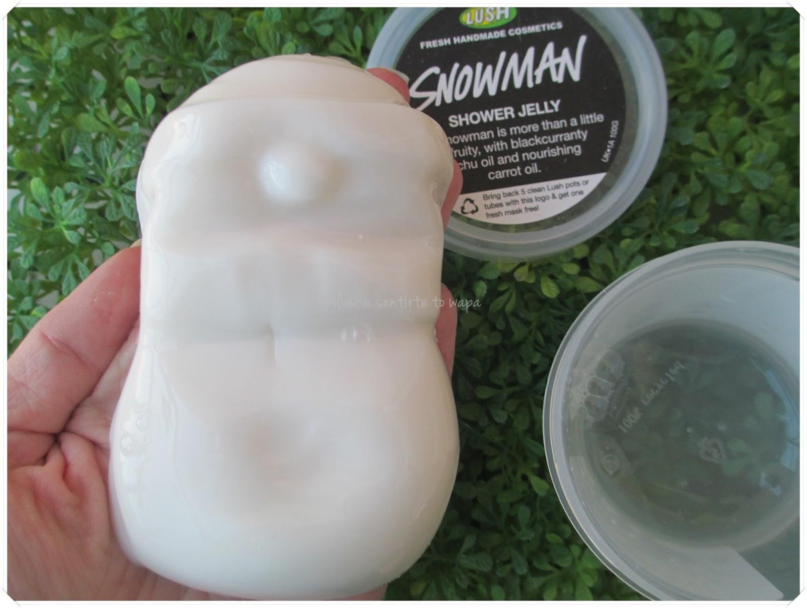 Lush - Gelatina Snowman