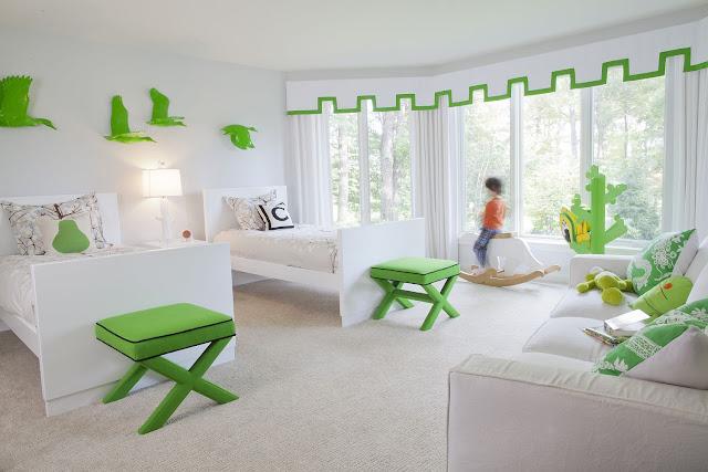 Xu hướng chọn màu sắc trang trí phòng ngủ của bé năm 2019