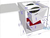 Gambar ukuran box speaker 15inch doble turbo