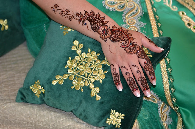 Mehndi For full hand