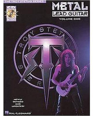 Troy stetina heavy metal lead guitar vol 1