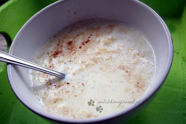 Zupa mleczna z lanymi kluskami