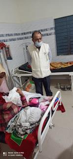 सीएमएचओ डॉ पांडेय ने लामता एवं समनापुर के स्वास्थ्य केन्द्रों का किया निरीक्षण
