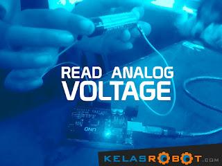Program Arduino: Read Analog Voltage!