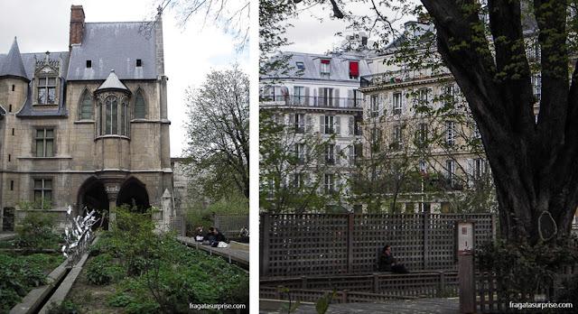 Jardim de Cluny, Paris