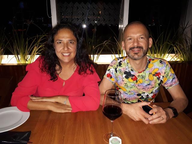 Gabriela Borge y Javier Navarro.