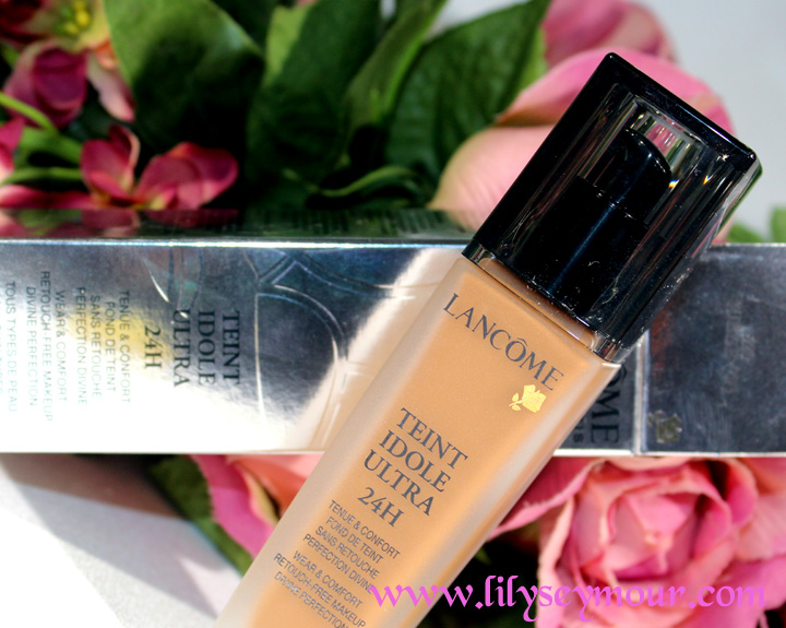 Lancome Foundation Swatches on Brown Skin