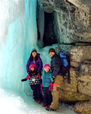Maligne Canyon Ice Walk, Jasper National Park