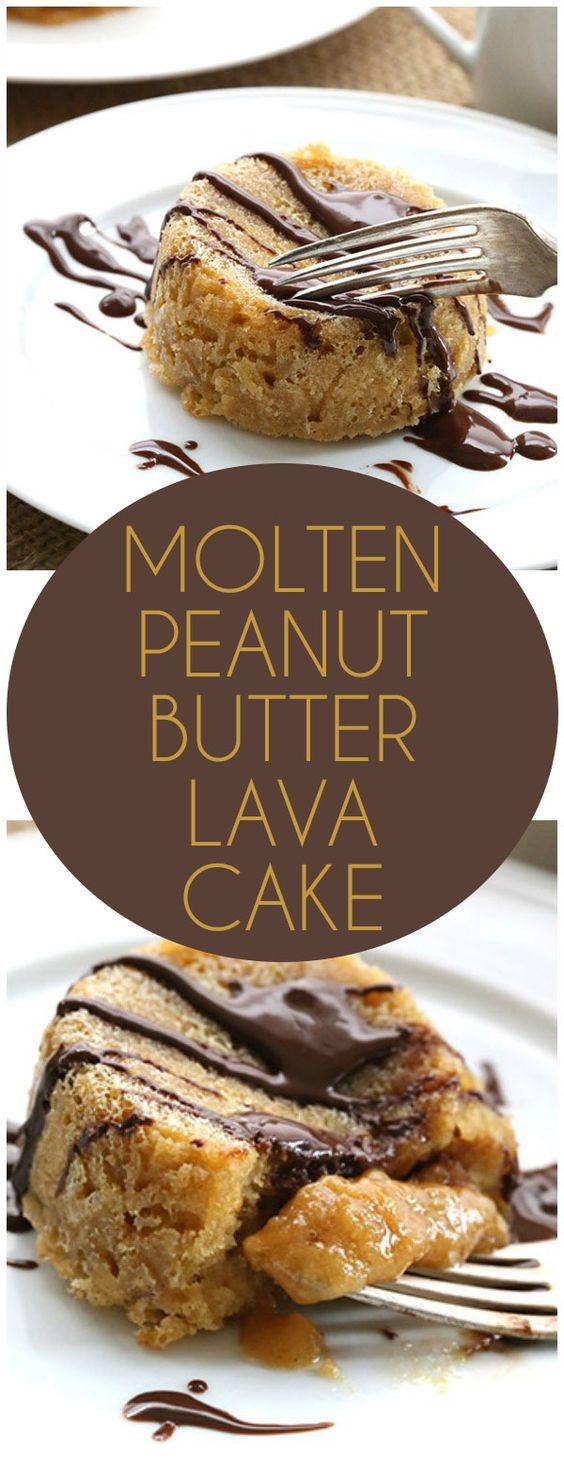 Low Carb Butter Molten Lava Cakes #dessert #lowcarb #butter #molten #lava #cake
