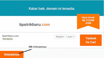 daftar domain di niagahoster tahap 3