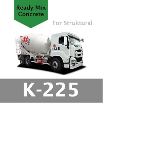 Harga Beton Cor Mutu K-225