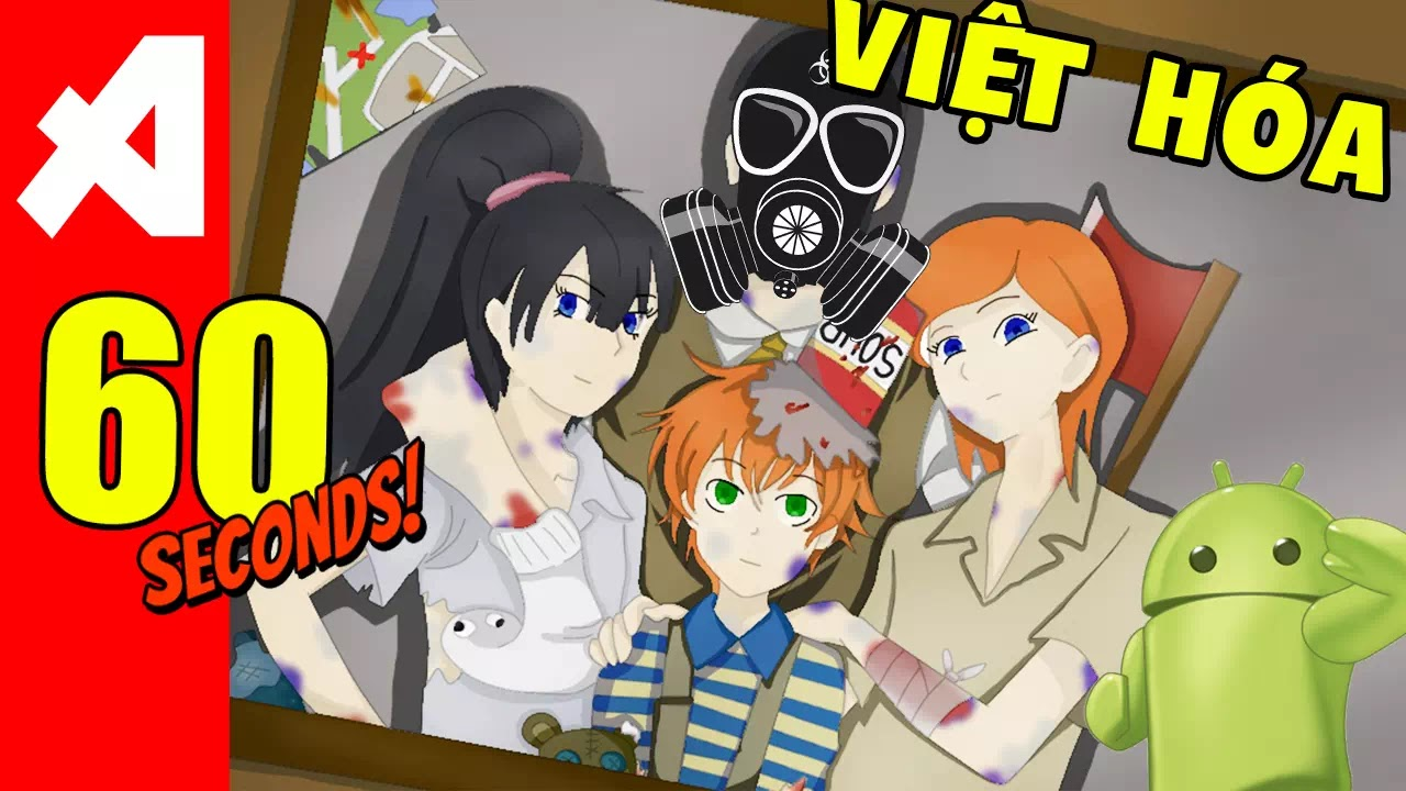 game 60 seconds viet hoa cho android pc aowvn - Game 60 Seconds! Việt Hóa | Android PC IOS - Sinh Tồn Tuyệt Hay