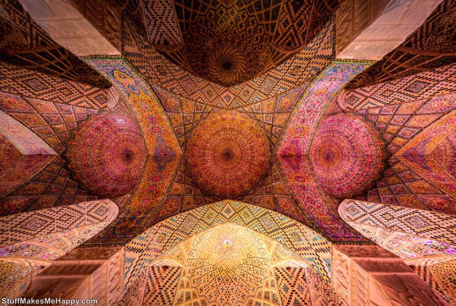 Nasir al-Mulk Mosque in Iran