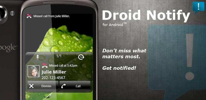 Droid Notify Pro V3.14 Android Apk App :: برنامج التنبيهات الرائع :: مباشر