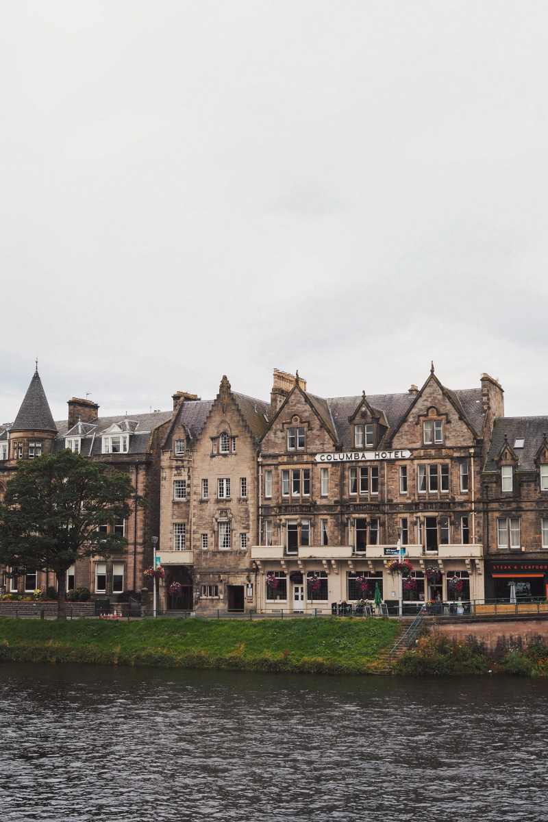Visiter la ville d'Inverness dans les Highlands en Ecosse