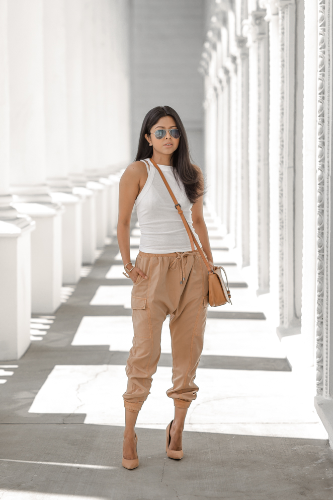Harem the Rethinking Pants Trend forecast dress for spring in 2019