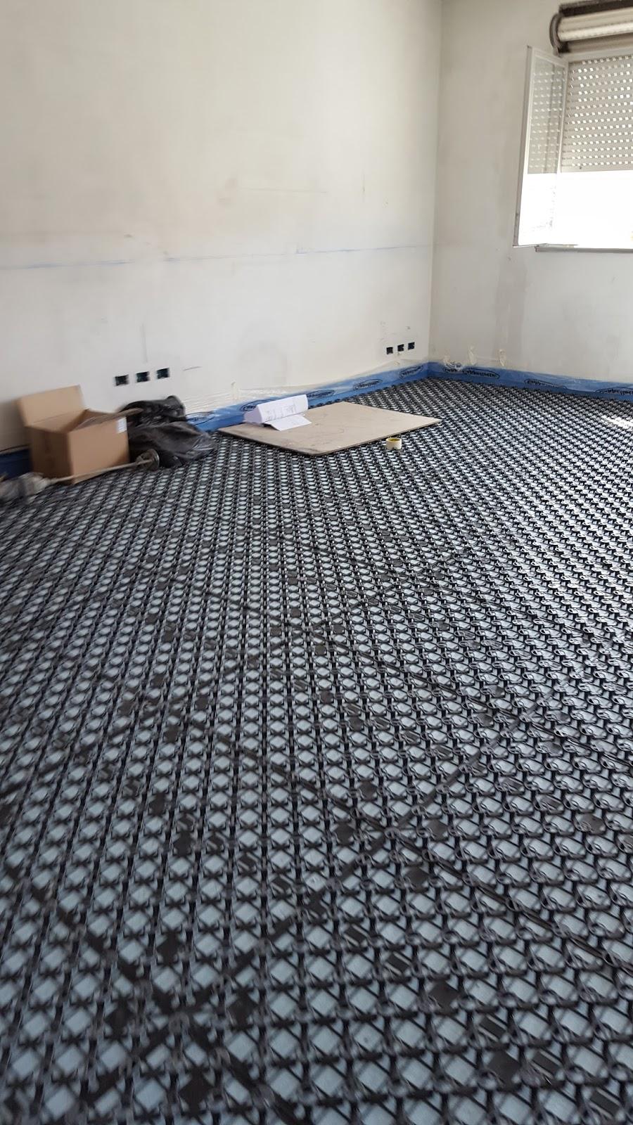 Ristrutturazione Riscaldamento A Pavimento nostra installazione pannelli spiderex per impianti a