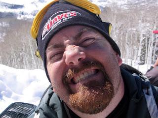 David Brodosi skiing in Alaska outdoors traveling.