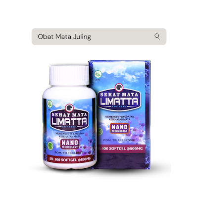Obat Mata Juling Limatta