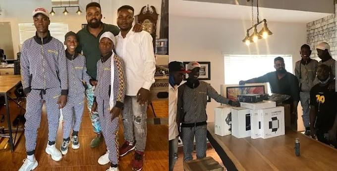 Netflix sends filming equipment to Nigerian group