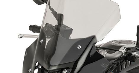 FZ-10 Sport Windshield