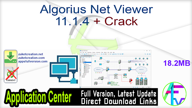 Algorius Net Viewer 11.1.4 + Crack