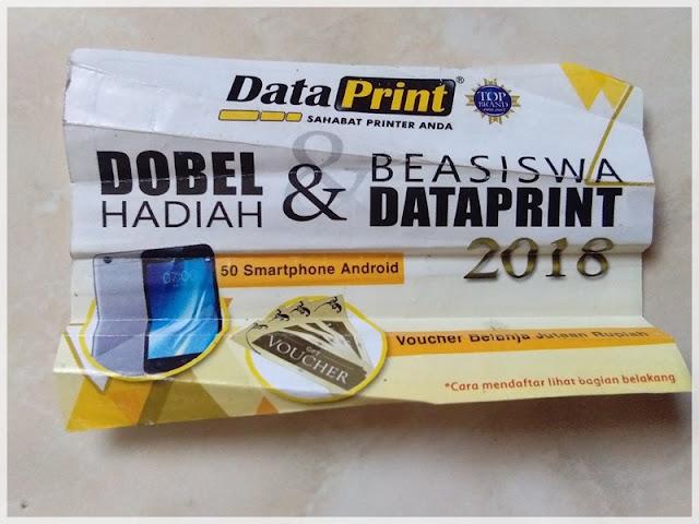 kupon dataprint beasiswa