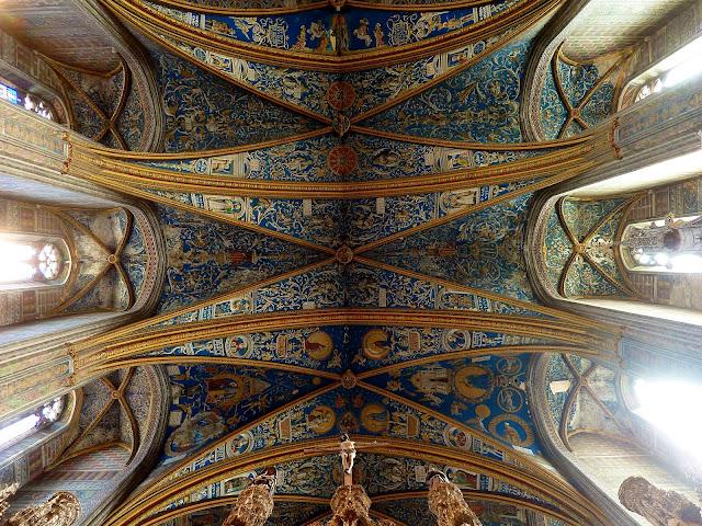 Interior. Bóvedas de la Catedral de Albi