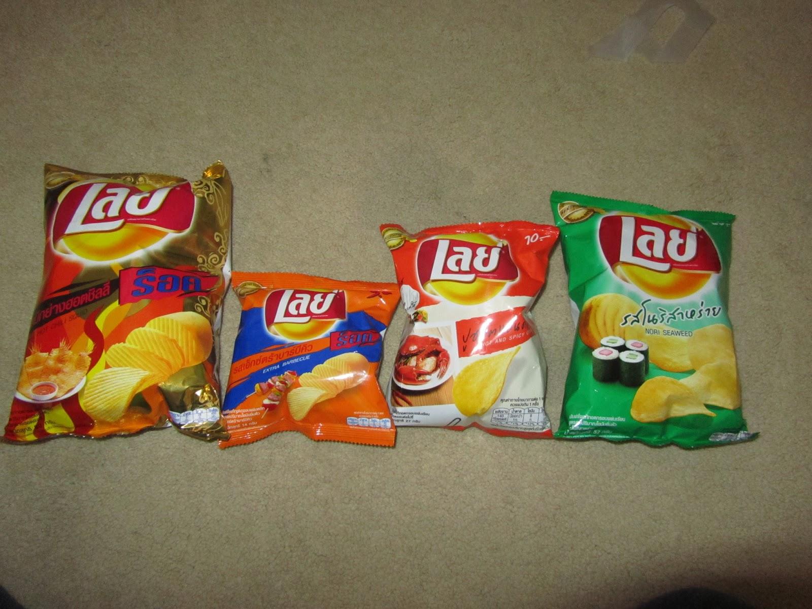The Chip Report: Potato Chip Bag Size Comparison