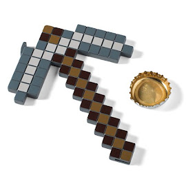 Minecraft Iron Pickaxe Bottle Opener Gadgets