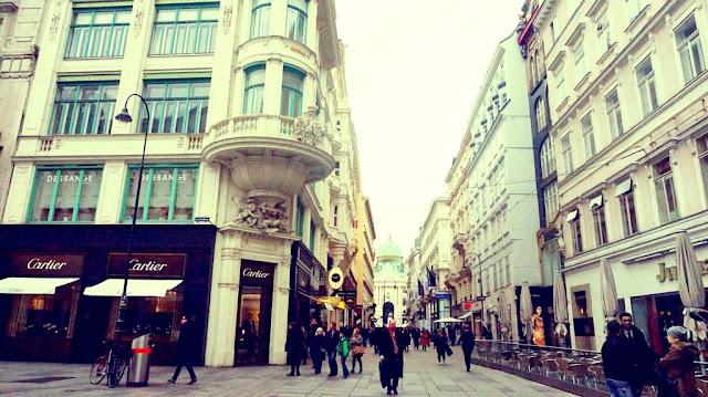Europe Vienna Michaelertor