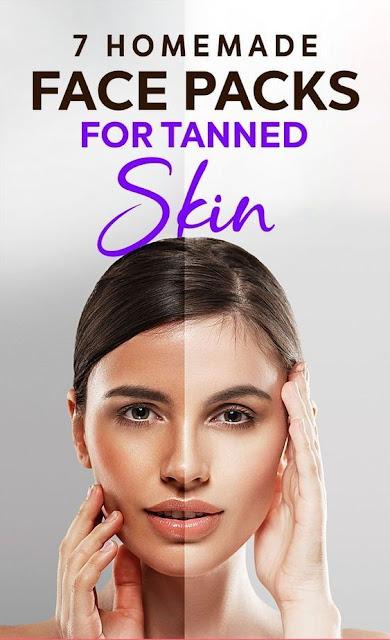 7 Simple Homemade Face Packs For Tanned Skin