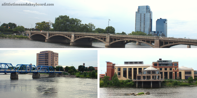 Views of Grand Rapids along the Grand River.