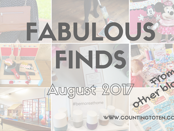 Fabulous Finds for August 2017 - Recommendations From Others