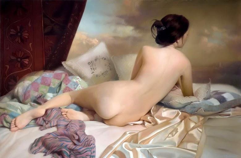 Mascarada - Pinturas sensuais de Andrei Belichenko