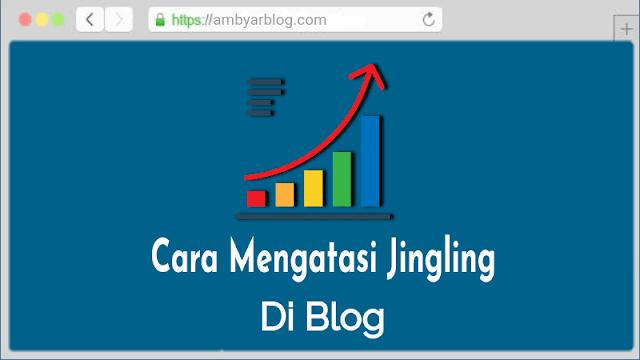 Cara Mengatasi Jingling di Blogger Terbaru